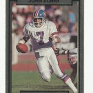 John Elway 1990 Action Packed Single Card #63 Denver Broncos