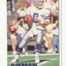 Troy Aikman 1995 Upper Deck Collector's Choice Single Card #66 Dallas Cowboys