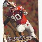 Erasmus James 2005 Ultra Gold Medallion Rookie Card #221 Minnesota Vikings