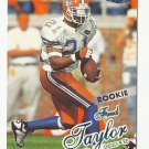 Fred Taylor 1998 Fleer Ultra Rookie Card #214 Jacksonville Jaguars