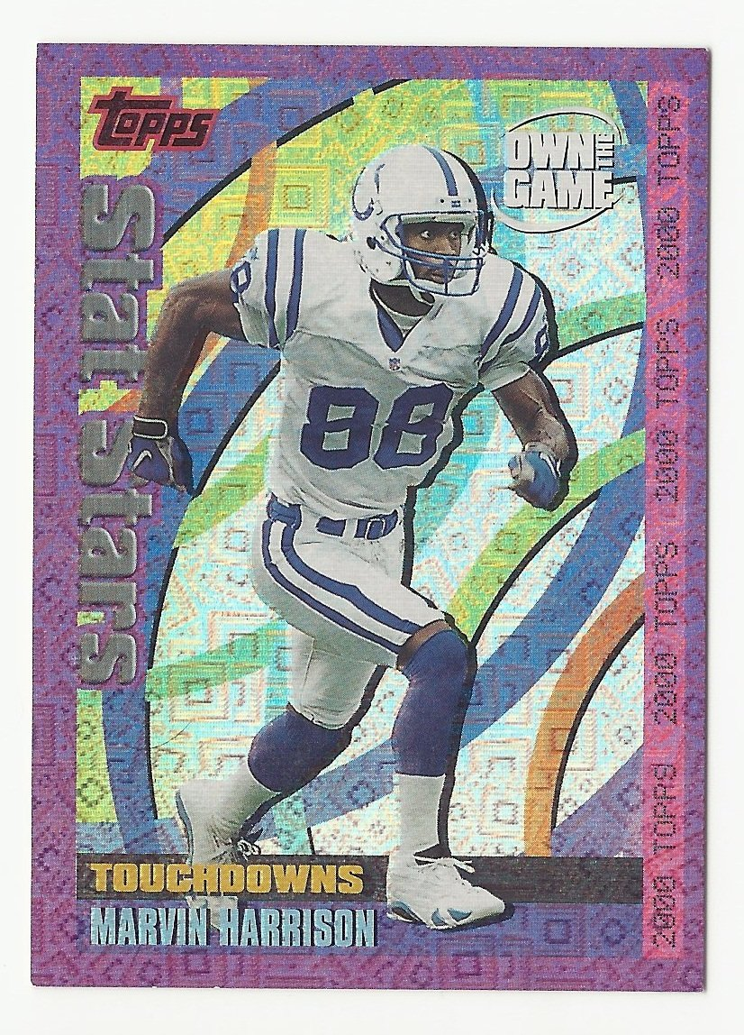 Marvin Harrison 2000 Topps Own the Game Insert #OTG30 Indianapolis Colts