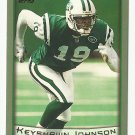 Keyshawn Johnson 1999 Topps Single Card #310 New York Jets