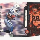 Marvin Harrison 1998 Upper Deck Constant Threat Die-Cut Silver #CT14 (0560/1000) Indianapolis Colts
