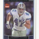 Anthony Fasano 2006 Topps Rookie Card #381 Dallas Cowboys/Kansas City Chiefs
