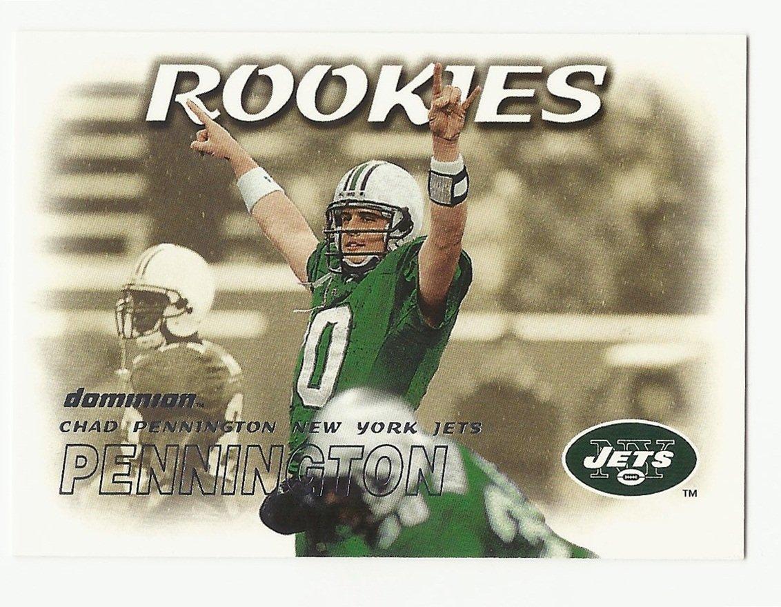 Chad Pennington 2000 Skybox Dominion Rookie Card #200 New York Jets/Miami Dolphins