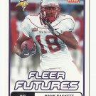 Hank Baskett 2006 Fleer Futures Rookie Card #143 Minnesota Vikings