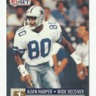 Alvin Harper 1991 Pro Set Rookie Card #741 Dallas Cowboys
