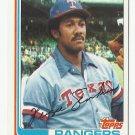 Fergie Jenkins 1982 Topps Single Card #624 Texas Rangers