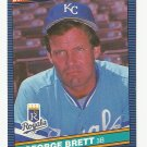 George Brett 1986 Donruss Single Card #53 Kansas City Royals