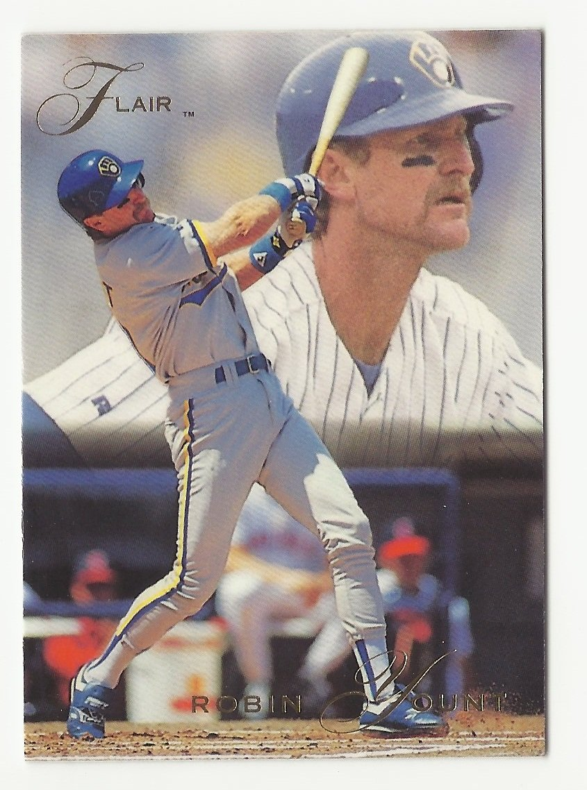Robin Yount 1993 Flair Single Card #232 Milwaukee Brewers