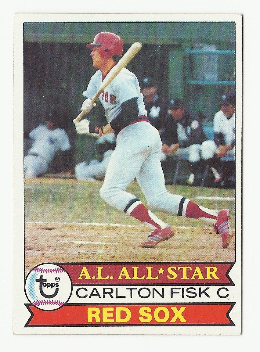 Carlton Fisk 1979 Topps Single Card #680 Boston Red Sox