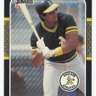 Jose Canseco 1987 Donruss Single Card #97 Oakland Athletics