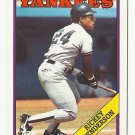 Rickey Henderson 1988 Topps Single Card #60 New York Yankees
