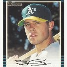 Bobby Crosby 2002 Bowman Prospect Rookie Card #318 Oakland Athletics