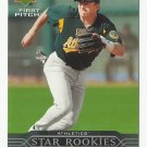 Mike Rouse 2005 Upper Deck First Pitch Rookie Card #231 Oakland Athletics