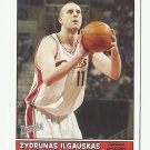 Zydrunas Ilgauskas 2005 Bazooka Single Card #157 Cleveland Cavaliers
