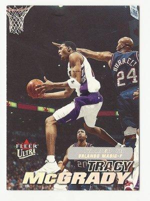 Tracy McGrady 2000 Fleer Ultra Single Card #165 Toronto Raptors/Orlando Magic