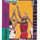 Chris Webber 1995 UD Collector's Choice Crash the Game Scoring #c15 Washington Bullets/Wizards