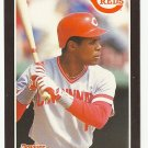 Barry Larkin 1989 Donruss Single Card #257 Cincinnati Reds