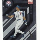 Michael Young 2005 Donruss Elite Card #145 Texas Rangers