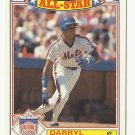 Darryl Strawberry 1988 Topps All Star Commemorative Card #19 New York Mets