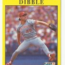 Rob Dibble 1991 Fleer Single Card #62 Cincinnati Reds