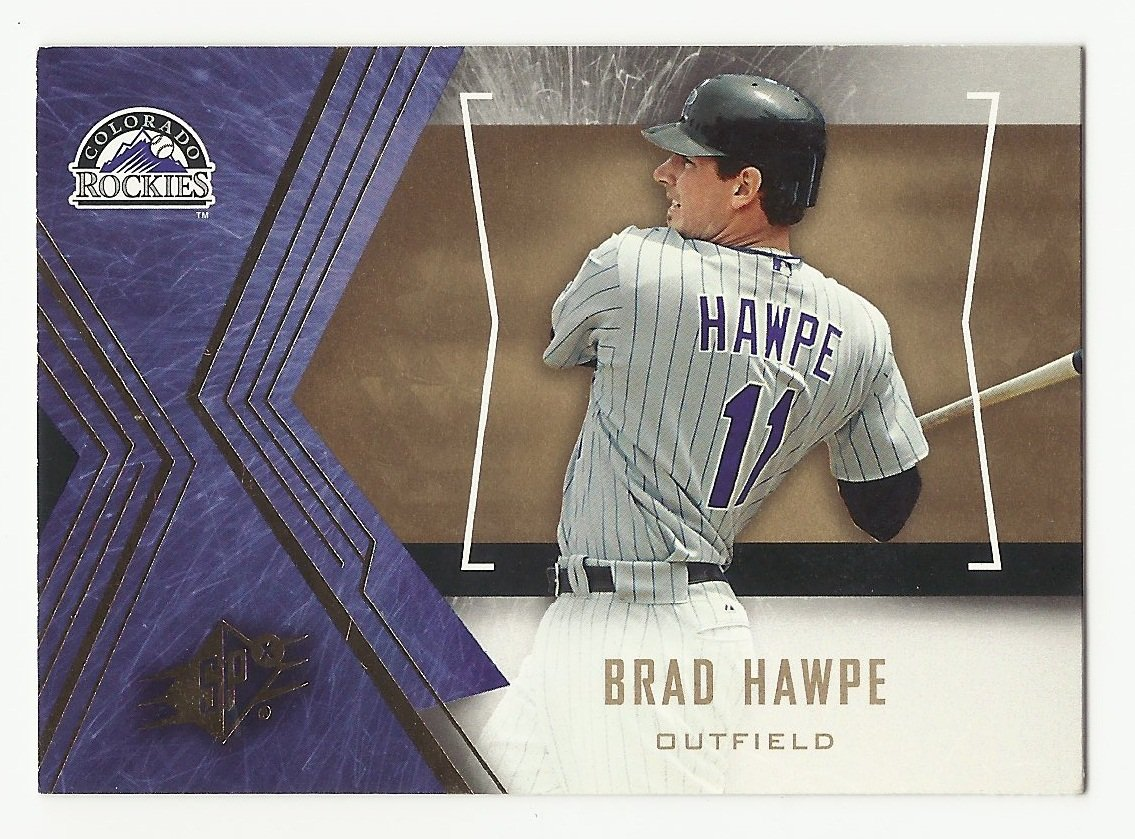 Brad Hawpe 2005 Upper Deck SPx Single Card #34 Colorado Rockies