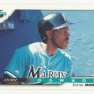 Andre Dawson 1996 Score Single Card #51 Miami Marlins