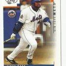 Mo Vaughn 2003 Leaf Single Card #207 New York Mets