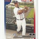Julio Franco 2005 Topps Total Card #132 Atlanta Braves