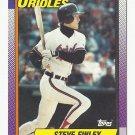 Steve Finley 1990 Topps Single Card #349 Baltimore Orioles