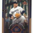 Ben Sheets 2004 Upper Deck Diamond Collection #46 Milwaukee Brewers