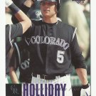 Matt Holliday 2006 Upper Deck Card #167 Colorado Rockies/St. Louis Cardinals