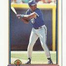 Joe Carter 1991 Bowman Card #11 Toronto Blue Jays/San Diego Padres