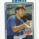 Kazuhisa Ishii 2005 Topps Opening Day Baseball Card #113 Los Angeles Dodgers