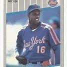 Dwight Gooden 1989 Fleer Card #36 New York Mets