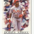 Bobby Abreu 2001 Pacific Private Stock Card #88 Philadelphia Phillies/Los Angeles Dodgers