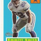 Emmitt Smith 2001 Topps Heritage Card #21 Dallas Cowboys
