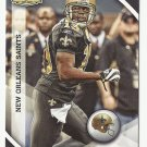 Devery Henderson 2010 Panini Gridiron Gear Card #90 New Orleans Saints