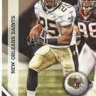 Reggie Bush 2010 Panini Gridiron Gear Card #94 New Orleans Saints/Detroit Lions