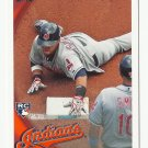 Carlos Santana 2010 Topps Update Rookie Card #US-330 Cleveland Indians