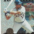 Todd Steverson 1995 Score Summit Edition Nth Degree Rookie Card #166 Detroit Tigers