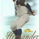 Orlando Hernandez 2000 Fleer Showcase Card #67 New York Yankees