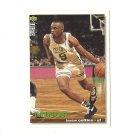 Greg Minor 1995 Collector's Choice Card #123 Boston Celtics