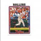 Jimmy Rollins 2004 Topps Card #76 Philadelphia Phillies