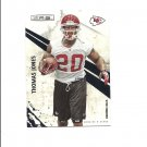 Thomas Jones 2010 Panini Rookies and Stars Card #75 Kansas City Chiefs