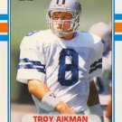 Troy Aikman 1989 Topps Traded Rookie Card #70T Dallas Cowboys