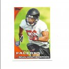 Sean Weatherspoon 2010 Topps Rookie Card #156 Atlanta Falcons