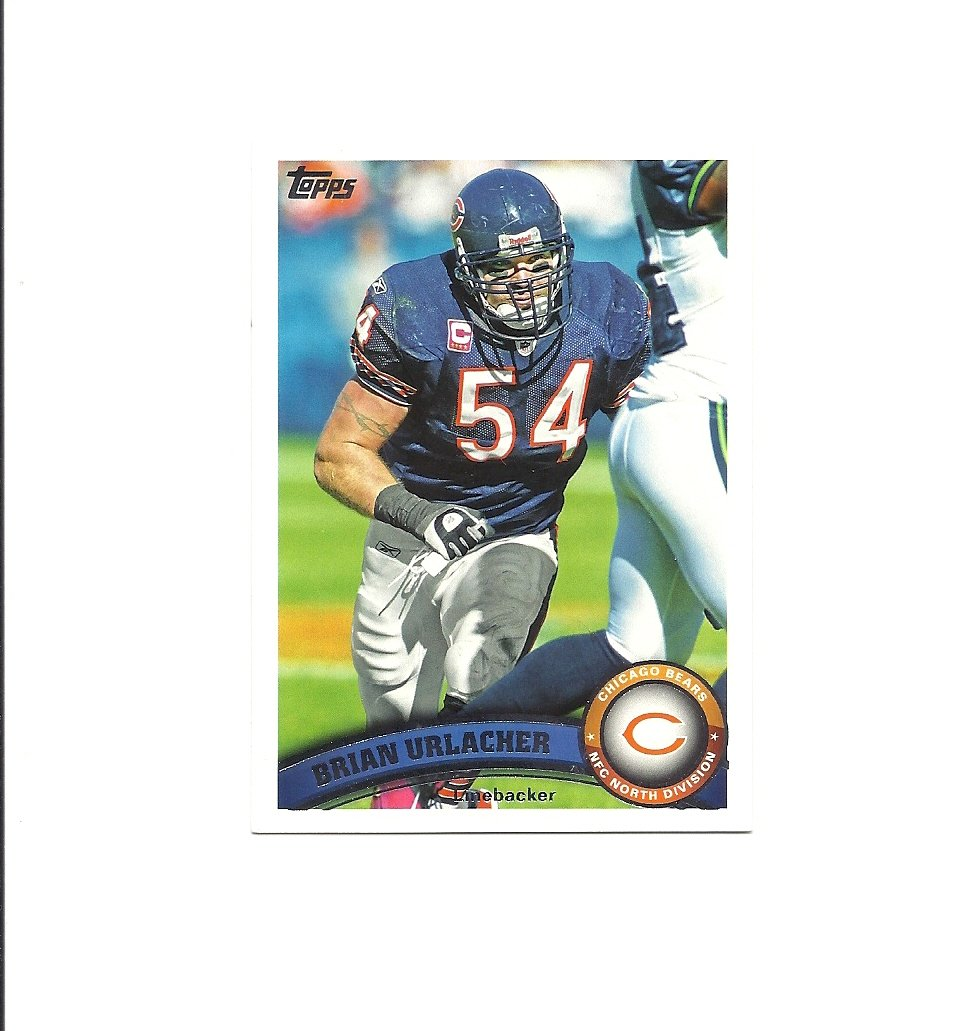 Brian Urlacher 2011 Topps Card #171 Chicago Bears