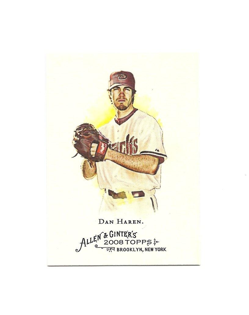 Dan Haren 2008 Topps Allen and Ginter Card #235 Arizona Diamondbacks/Los Angeles Dodgers